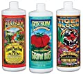 Hydrofarm FX14050 Plant Fertilizer, 3-Pack Assortment, 1-Qt. each