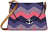 Snoogg awesome chevron Womens Carry Around Sling Bags