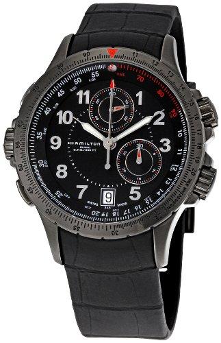 Khaki ETO Black Chronograph Dial Watch | Best Buy Hamilton Reviews