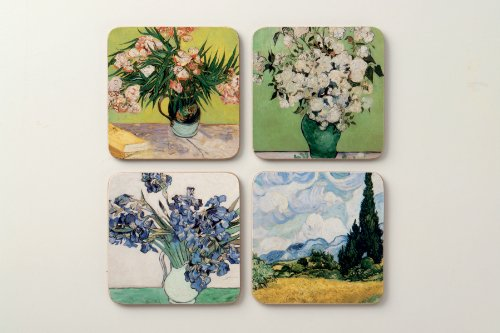 The Metropolitan Museum Of Art Coaster Set, Van Gogh