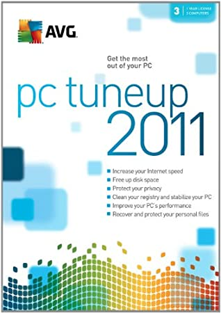 AVG 2011 PC Tune Up 3 User [Download] [OLD VERSION]