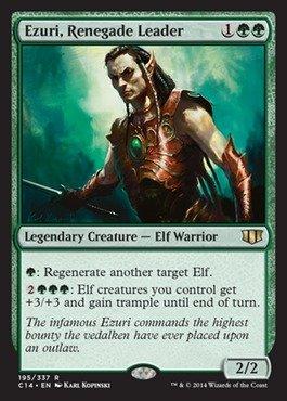 Magic: the Gathering - Ezuri, Renegade Leader - Commander 2014