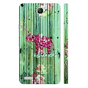 Xiaomi Redmi Note Elephant Art 7 designer mobile hard shell case by Enthopia