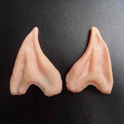 Lookatool 1Pair Pointed Fairy Elf Cosplay Halloween Costume Ear Tips