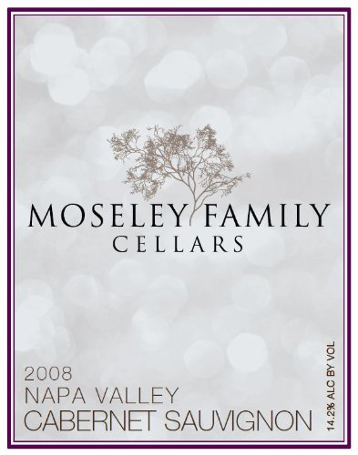 2008 Moseley Family Cellars Napa Valley Cabernet Sauvignon 750 Ml