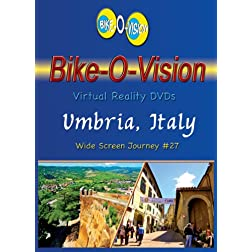 Bike-O-Vision Cycling Journey- Umbria, Italy (BLU RAY#27) [Blu-ray]