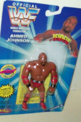 WWF / WWE Wrestling Superstars Bend-Ems Figure Series 3 Ahmed Johnson - 1