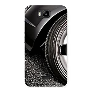 Ajay Enterprises Fill Car Beautiful Back Case Cover for Honor Bee