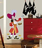 Roommates Rmk1958Gm Disney Jake And The Neverland Pirates Captain Hook Peel And Stick Giant Wall Decal