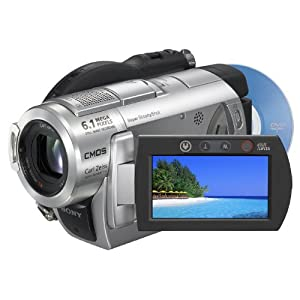 Sony DCR-DVD508 6.1MP DVD Handycam Camcorder with 10x Optical Image Stabilized Zoom