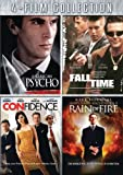 Cover art for  Four-Film Collection (American Psycho / Fall Time / Confidence / Rain of Fire)