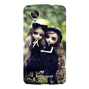 HomeSoGood Gothic Twins Dolls Multicolor 3D Mobile Case For LG Nexus 5 (Back Cover)