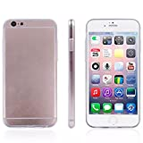 Coromose Ultrathin Soft TPU Gel Clear Case for Iphone 6 4.7