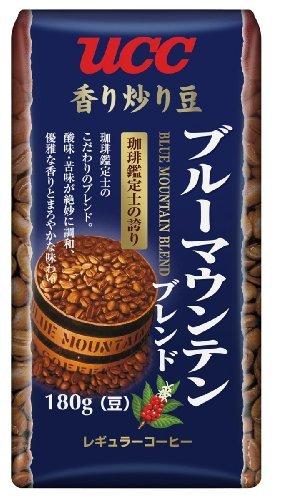 UCC 香り炒り豆ブルーマウンテンブレンドAP180g