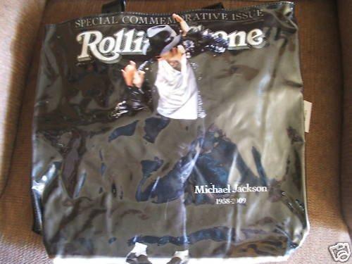 Michael Jackson Rolling Stone Magazine Tote Bag