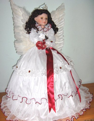 Buy Porcelain Angel Doll (28 inches with feather wings)