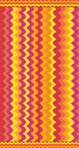 Beach Towel EGYPTIAN cotton 75x160cm Wavey Hot