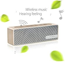 buy Airgoo® Best Wireless Stereo Bluetooth Speaker P3 With Built In Microphone 8 Hours Rechargeable Li Battery For Ipad Iphone Itouch, Blackberry Etc