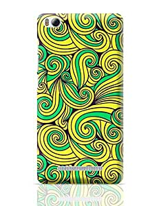 PosterGuy Mi 4i Case Cover - Wurly Swirly Quirky Pattern   Designed by: Kickass Artworks