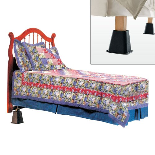 Acid Reflux Relief Bed Riser System By Remedyt-2 Pack [82-1497] - front-641358