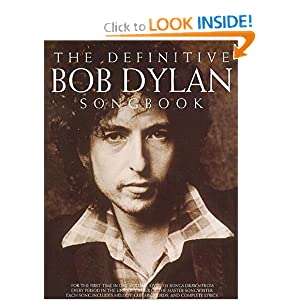 The Definitive Dylan Songbook (Bob Dylan) (Paperback)