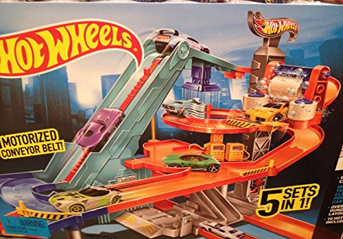 Hot Wheels Ultra Metropolis Track Set (Hot Wheels Garage Cars compare prices)
