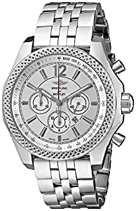 Breitling Men's A4139021-G754 Analog Display Swiss Automatic Silver Watch