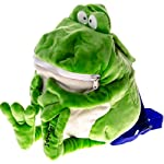 Willie the Plush Frog Backpack