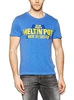 Meltin Pot Camiseta Manga Corta Arcoj (Azul)
