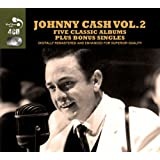 5 Classic Albums Plus Bonus Singles [Audio CD] Johnny Cash