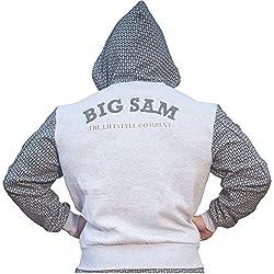 BIG SAM Sweater Sweatshirt Jacket Hoody UNCLE BODY DOG Logo *4631*