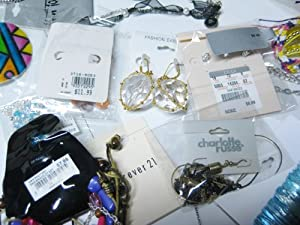 Brand New 12 Piece Mixed Grab Bag Name Brand Jewelry Lot