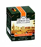 Ahmad Tea Ceylon (Pack of 1, Total 10 Enveloped Tea Bags)