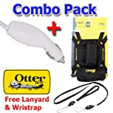 Otterbox Latch for iPad, Otterbox Utility Series - The Latch Accessory Storage Bag for Apple iPad with Car Charger and Lanyard Set.