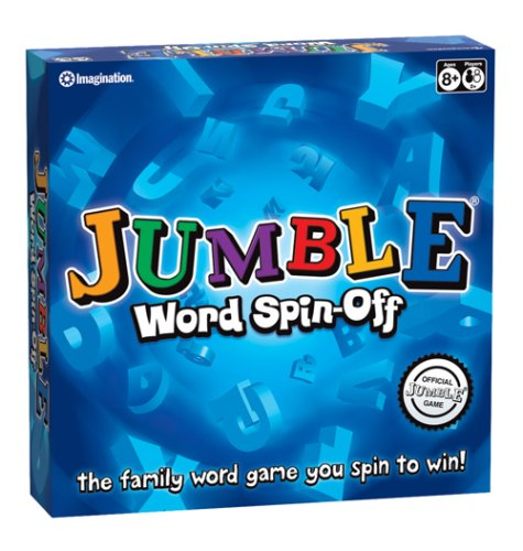 Imagination Entertainment Jumble Word Spin Board Game