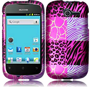 Amazon.com: For Huawei Ascend Y M866 M866C Hard Design Cover Case Pink