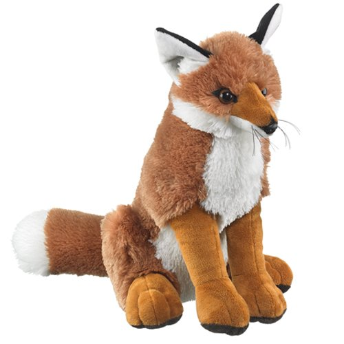 Large Fox Plush Red Fox Stuffed Animal front-960263