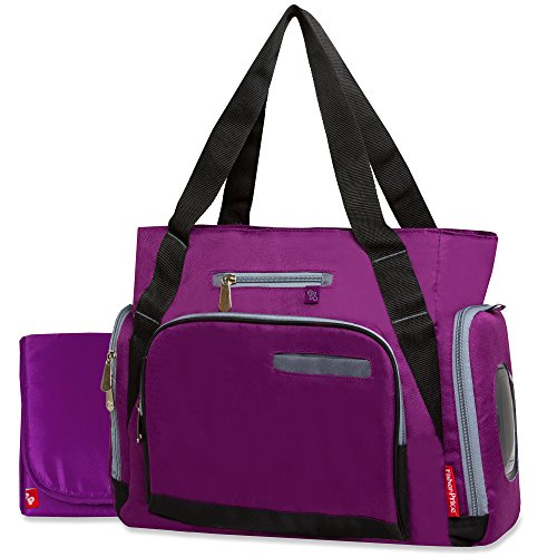 Fisher-Price Fastfinder Plum Fashion Tote