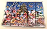 Disney Parks Christmas Chocolate Bar Variety Package of 5 Sealed 1.75 ounces each