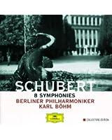 Schubert: 8 Symphonies (4 CD's)