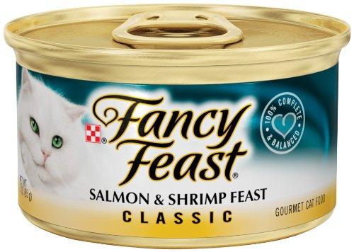 Fancy Feast Classic Salmon & Shrimp Feast
