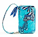 Bella Taylor Butterfly Quilted Cotton Wristlet Wallet