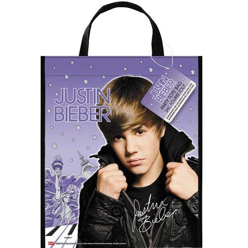 """Justin Bieber Deluxe Favor Bag, 13 x 11"""" - 1"""