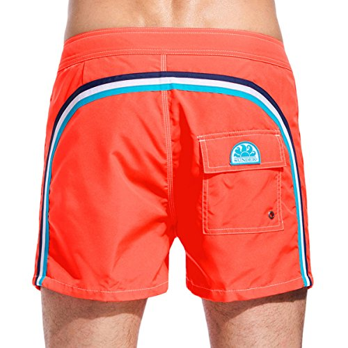 SUNDEK M502BDTA100 329 ORANGE FLUO Boxer Mare Low Rise Slim Fit ARANCIO FLUO