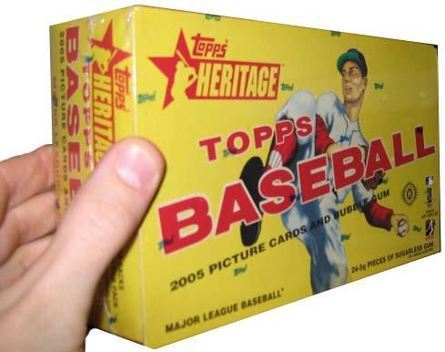 2005 Topps Heritage Baseball HOBBY Box – 24P8C