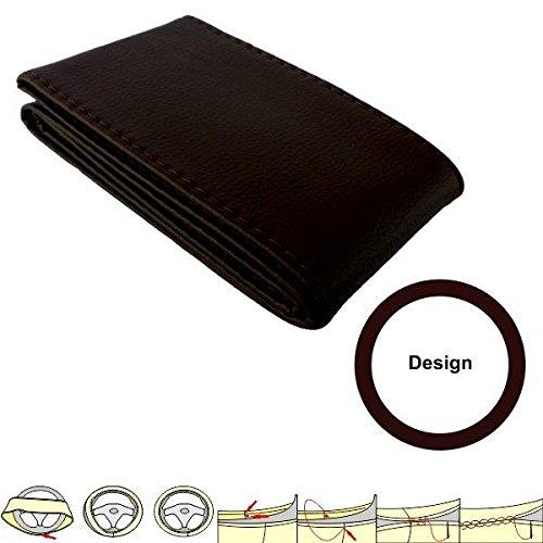 akhan sc104b housse prot ge marron housse de volant 37 39 cm cuir lacets. Black Bedroom Furniture Sets. Home Design Ideas