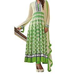 Jinaam Women's Cotton Unstitched Dress Material (jess 56_Green_Free Size)