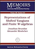 img - for Representations of Shifted Yangians and Finite W-algebras (Memoirs of the American Mathematical Society) book / textbook / text book