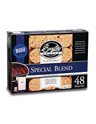 Special Blend Bisquettes 48 Pack by Bradley Smoker (USA) Inc.