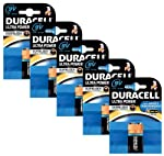 Duracell MX1604 Ultra Power 9v Batteries--Pack of 5 from Procter & Gamble